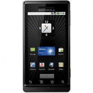 Motorola Milestone 300x300 - Tutorial: Instalando o sistema Android 2.2 (Froyo) no Motorola Milestone
