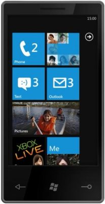 Windows Phone 7 259x500 - Vídeo: Windows Phone 7 com XBox Live