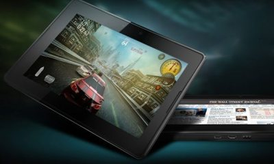 BlackBerry PlayBook 1 - Imagens do Playbook da RIM
