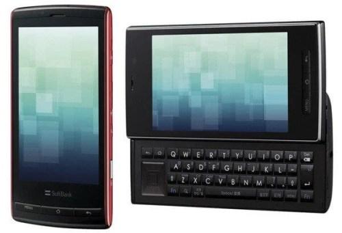 Sharp 003SH 500x341 - VÍDEO: SHARP 003SH - o primeiro aparelho Android com tela 3D