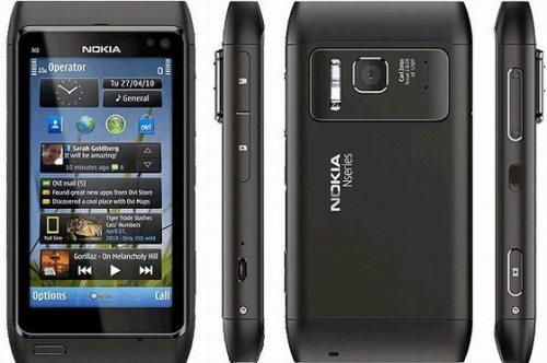 Nokia N8 Dark Steel Vodafone UK 500x332 - Review: smartphone Nokia N8