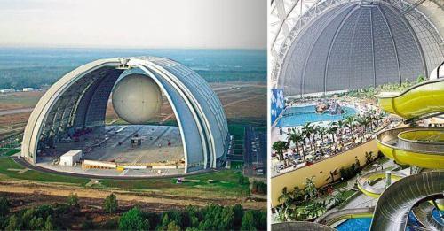 massssiveairplanehanger 500x261 - Conheça a maior Floresta Tropical Indoor do Mundo