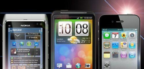 nokia iphone htc desire 500x241 - Guia Showmetech: os melhores smartphones para este Natal – 2010