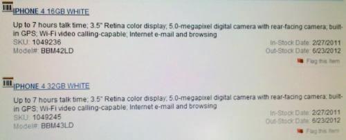 best buy white iphone 4 - iPhone 4 Branco deve chegar às lojas em Fevereiro-2011