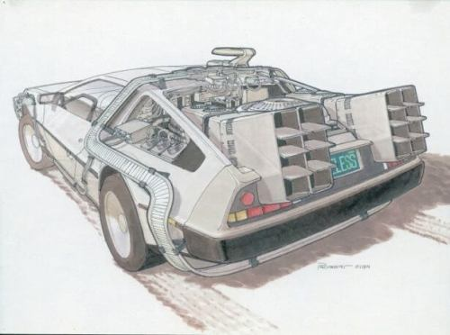 IMAGENS: Back to the Future II Concept Art 8