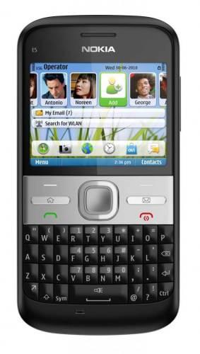 Nokia E5 Black 283x500 - Nokia E5 chega ao Brasil por R$ 799