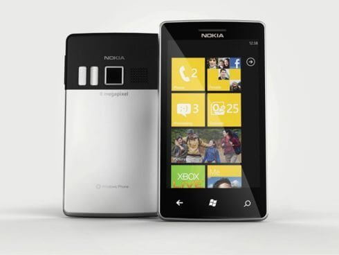 Nokia Windows Phone 7 concept 1 - Especial: Nokia adota o Windows Phone 7