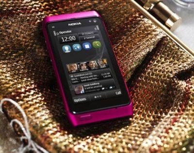Nokia N8 Pink version comes with Symbian Anna Update 550x435 500x395 - Vídeo: Nokia N8 rodando o novo sistema Symbian Anna