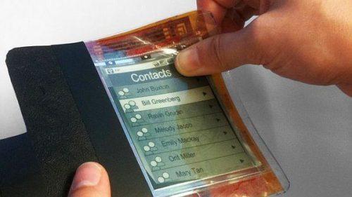paperphone 620 size 598 500x281 - Primeiro celular feito de papel eletrônico será apresentado em conferência