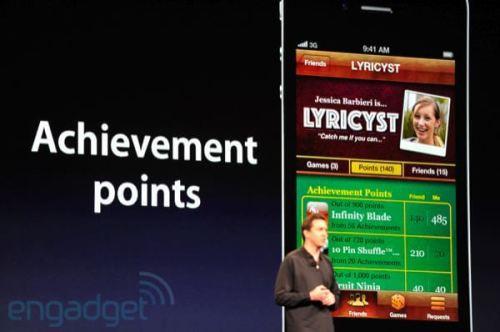 apple wwdc 2011 gamecenter 500x332 - Conheça as novidades do iOS 5 para iPhone 3GS e 4, iPad 1 e 2 e iPod Touch 3G e 4G