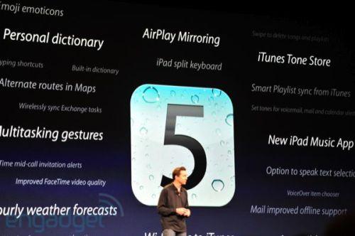 apple wwdc 2011 ios5 500x332 - Conheça as novidades do iOS 5 para iPhone 3GS e 4, iPad 1 e 2 e iPod Touch 3G e 4G