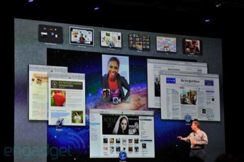 apple wwdc 2011 mission control 500x332 - Apple WWDC 2011: Mac OS X Lion
