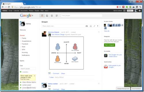 Themes for Google Plus 500x319 - Dica: adicione temas ao seu Google+