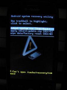 """recovery 225x300 - Dicionário Básico do """"Mod"""" para Android - Recovery CWM / Nandroid"""
