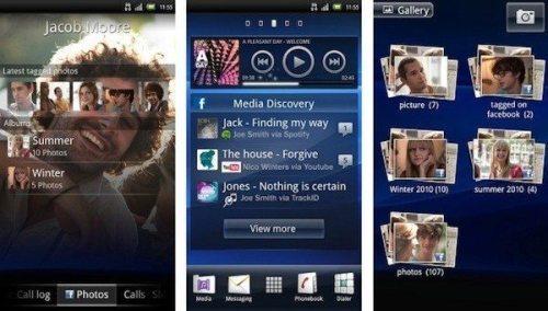 xperia play android 2 3 4 gingerbread1 500x284 - Teste de UIs: as melhores interfaces de usuário para smartphones