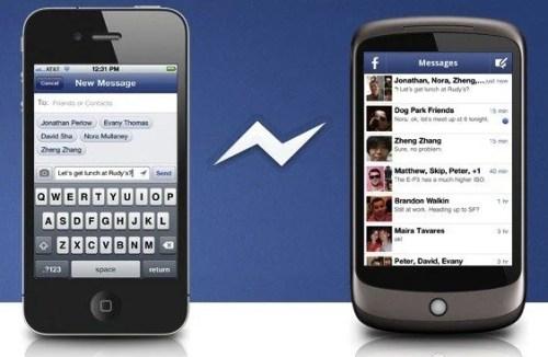 facebook messenger2 500x326 - Facebook anuncia app específico para mensagens para iOS e Android