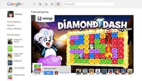 google plus games 500x286 - Orkutizando o Google+: como tornar a nova rede social mais parecida com as outras