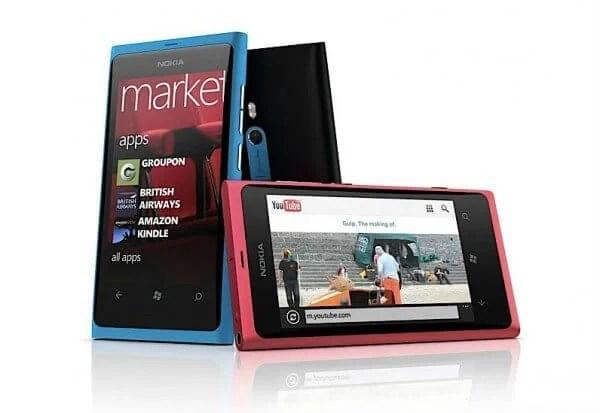 Nokia lumia800 600x413 - Nokia Lumia 800 e Lumia 710 chegam ao Brasil no primeiro trimestre de 2012