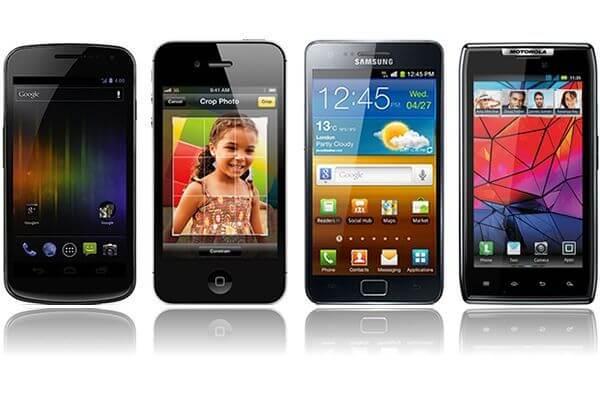 galaxy nexus vs iphone 4s vs galaxy s ii 7 size6 - Comparativo: Galaxy Nexus x iPhone 4S x Galaxy S II HD LTE x Galaxy S II x Motorola Droid Razr x HTC Titan