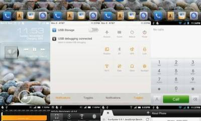 Androiod 4.0 ICS Samsung Galaxy SII GT 9100 - Instale a ROM Android 4.0.1 ICS MIUI para o Galaxy S II da AT&T