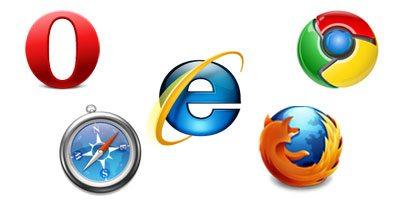 browser logos1 - Tráfego no Internet Explorer cai abaixo de 50%