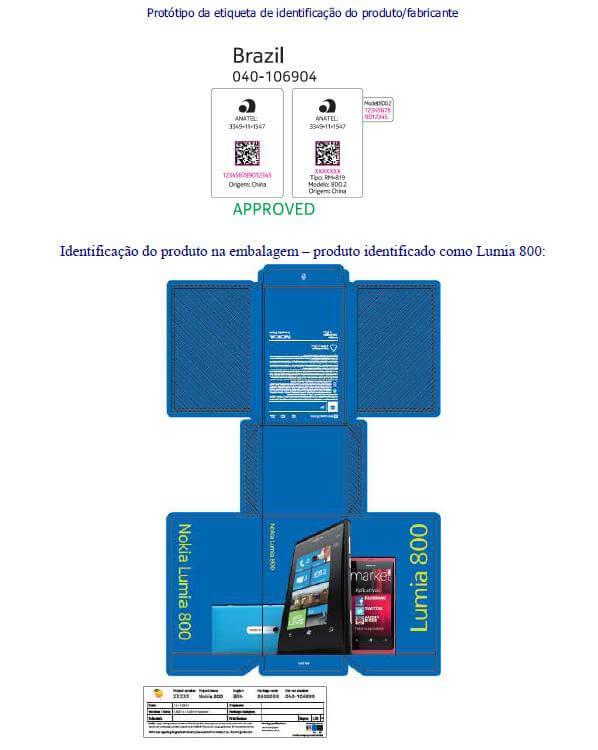 nokia 800 1 - Nokia Lumia 800 é homologado pela Anatel