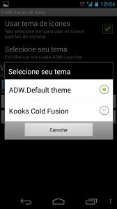ADW Launcher Mudar Tema 168x300 - Saiba como mudar a aparência do seu Android - Parte 1 - Launchers