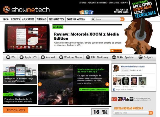 Showmetech Blog 2012 610x446 - Showmetech ultrapassa 3 milhões de visitas