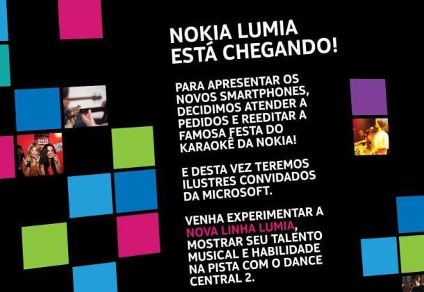 convite 078 610x421 - Nokia lança a linha Lumia em São Paulo