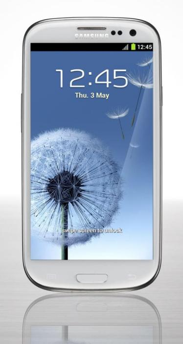 GALAXY S III Product Image 5 W 534x1000 - Samsung Galaxy SIII: fotos do aparelho