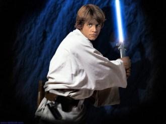 Nada de Luke e seu sabre de luz nesse filme...