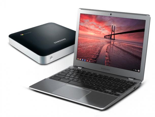 chromebooks e1338343261522 610x462 - Google anuncia atualização de sua linha de Chromebooks