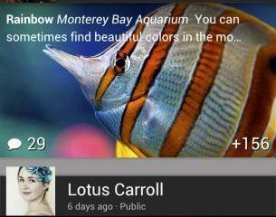 new Google plus - Aplicativo do Google+ é atualizado