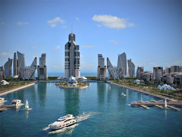 tall2 600x450 - Projeto prevê prédio de mais de 1km de altura no Azerbaijão