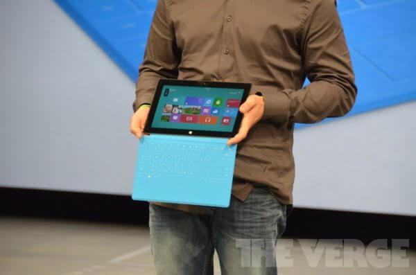 verge lb 1200 - Veja detalhes sobre os novos tablets da Microsoft (ao vivo)