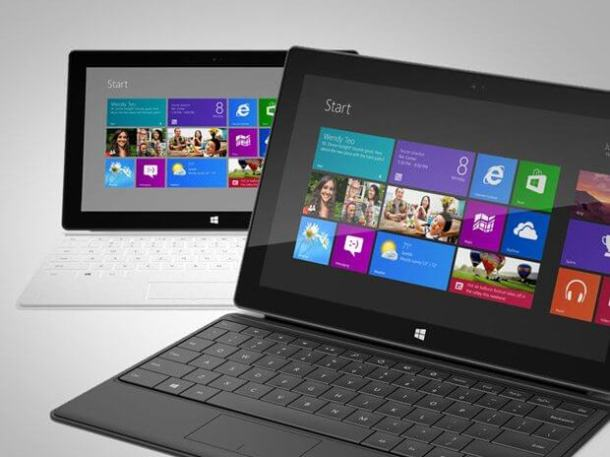 windows 8 microsoft surface 610x457 - Windows 8 e Microsoft Surface chegarão às lojas no dia 16 de outubro