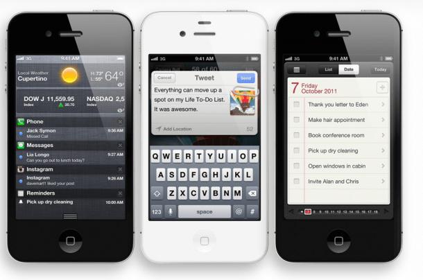 Reprodução iPhone 4S / Apple