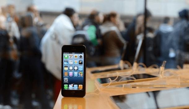 Captura de Tela 2012 09 21 às 11.37.16 610x351 - Apple: fãs recebem com entusiasmo o iPhone 5
