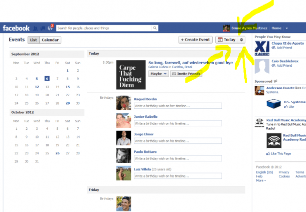 "Facebook suggested events eventos sugeridos 610x423 - Acabe com os ""eventos sugeridos"" do Facebook"