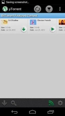 utorrent1 - uTorrent para o Android ganha nova atualização