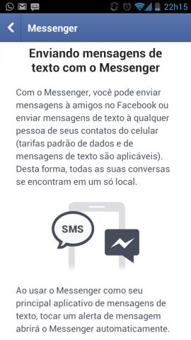 Facebook Messenger agora com SMS 562x1000 - Facebook incorpora SMS no aplicativo de mensagens