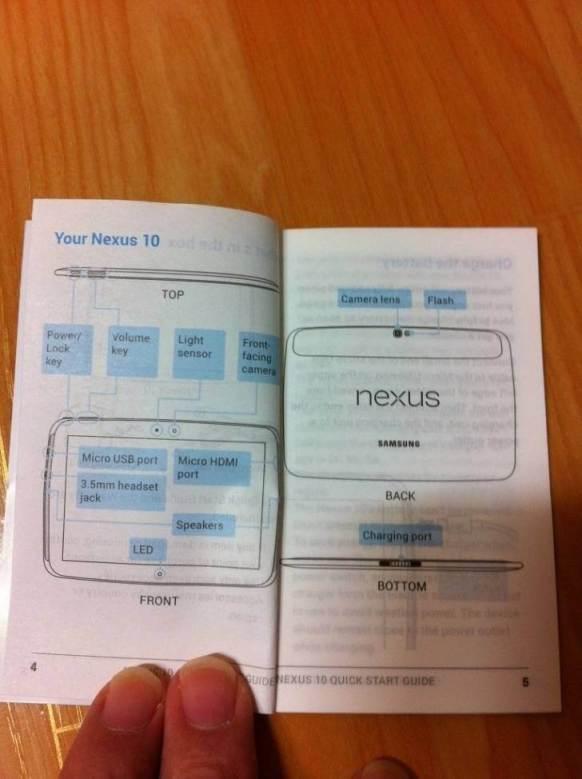 NEUX10 - Surgem informações sobre o Nexus 10, tablet da Samsung