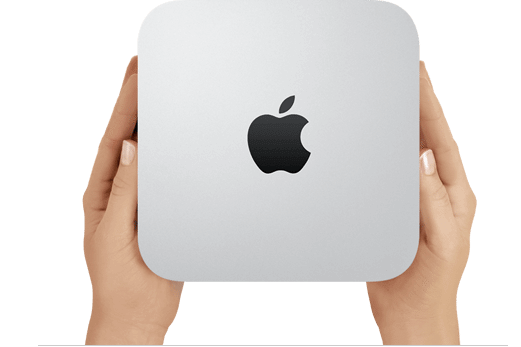 step0 gallery macmini image4 - Conheça os novos iMac, Mac Book Pro e Mac Mini