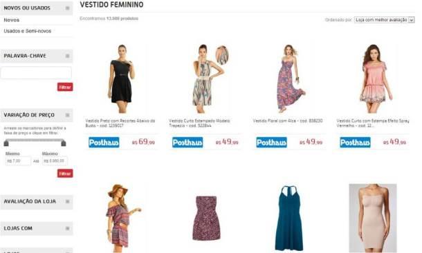 Captura de tela inteira 04112012 212406.bmp 610x367 - Buscapé Modas: uma nova forma de comprar roupas na internet