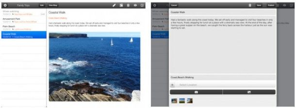 blogger ipad 800x295 610x224 - Google anuncia novo aplicativo do Blogger para Android e iOS