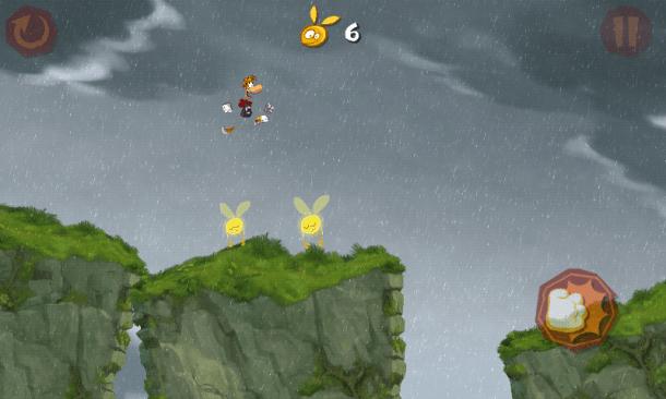 Screenshot 2012 12 26 10 55 33 610x366 - Rayman Jungle Run recebe atualização com melhorias, novas fases e desafios.
