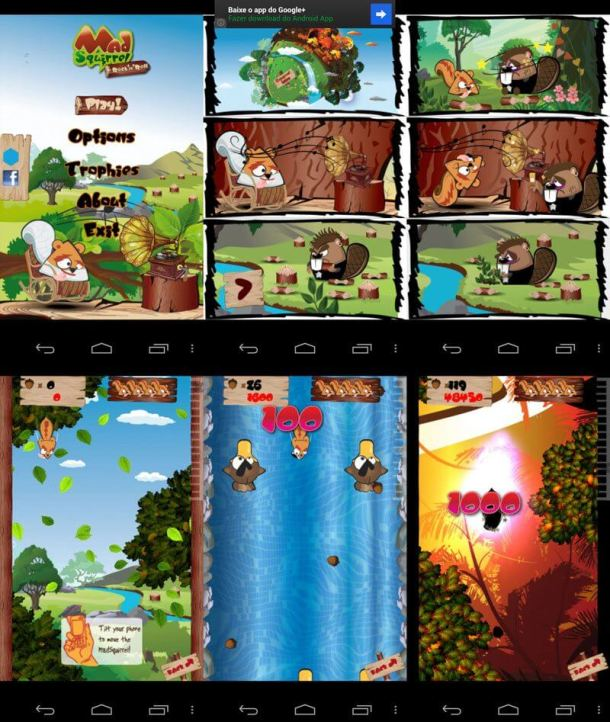 screenshots telas 800 610x722 - Game Review: Mad Squirrel para iPhones e Androids