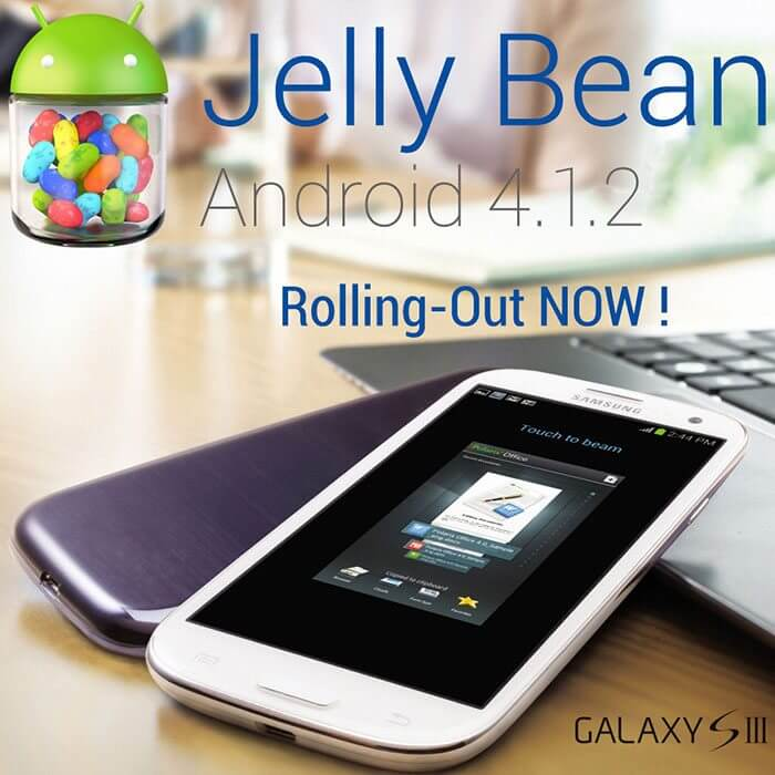 Galaxy S III Jelly Bean 4.1.2