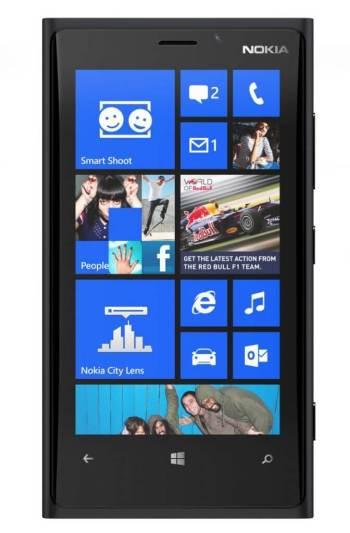 700 nokia lumia 920 black front - Nokia inicia pré-venda do Lumia 920 por 1.999 reais