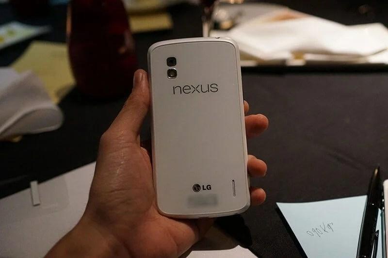 LG Google Nexus 4 branco white (7)